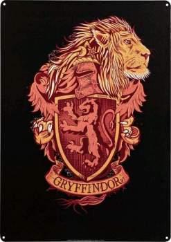 Image Harry Potter - Gryffindor A3 Tin Sign