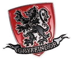 Image Harry Potter - Gryffindor Logo Enamel Pin