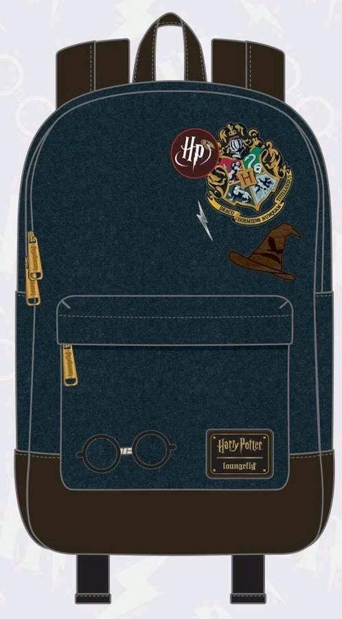 Image Harry Potter - Hogwarts Logo Blue Backpack