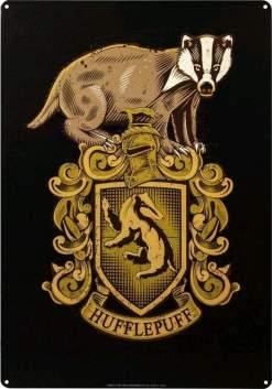 Image Harry Potter - Hufflepuff A3 Tin Sign