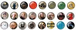Image Harry Potter - Pin Box series 01 Assortment (100 ct)