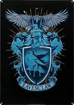 Image Harry Potter - Ravenclaw A3 Tin Sign
