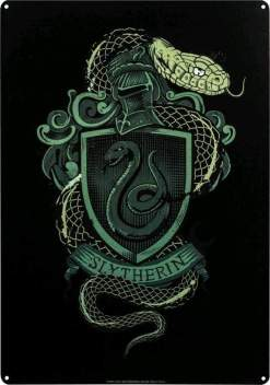 Image Harry Potter - Slytherin A3 Tin Sign