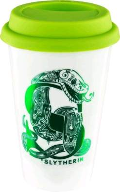 Image Harry Potter - Slytherin Foil Logo Keep Cup