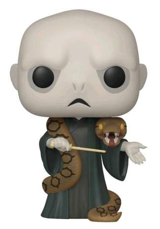 Image Harry Potter - Voldemort with Nagini US Exclusive Pop! Vinyl [RS]