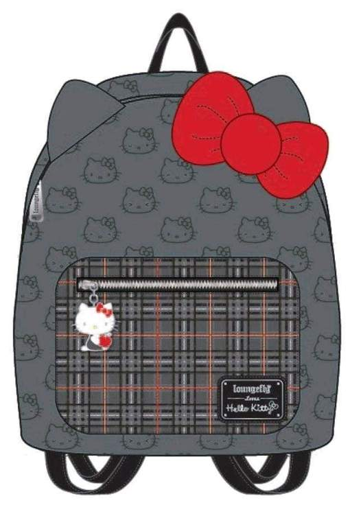Image Hello Kitty - Grey Mini Backpack with Bow
