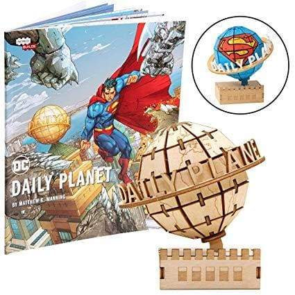 Incredibuilds DC Comics – Superman Daily Planet 3D Wood Model and Book