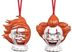 Image It (2017) - Pennywise Christmas Ornament 2-pack