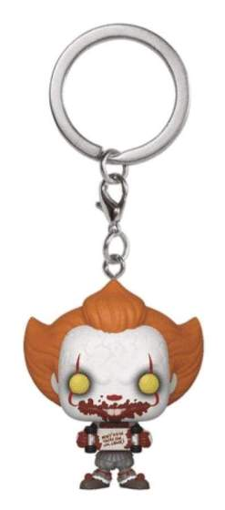 Image It Chapter 2 - Pennywise with Skateboard Pop! Keychain RS
