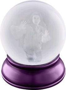 Image Labyrinth - Sarah etched in Crystal Ball Replica