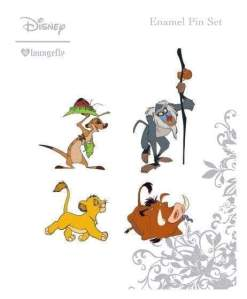 Image Lion King - Enamel Pin 4pk