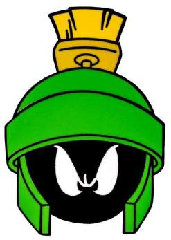 Image Looney Tunes - Marvin the Martian Enamel Pin