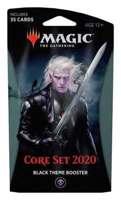 Image Magic the Gathering: Core Set 2020 Black Theme Booster