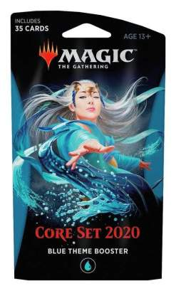 Image Magic the Gathering: Core Set 2020 Blue Theme Booster