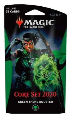 Image Magic the Gathering: Core Set 2020 Green Theme Booster