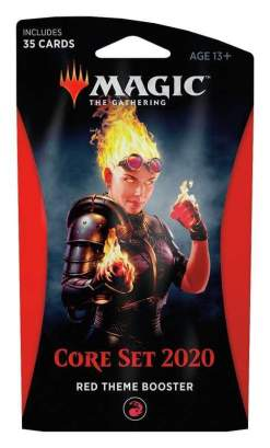 Image Magic the Gathering: Core Set 2020 Red Theme Booster