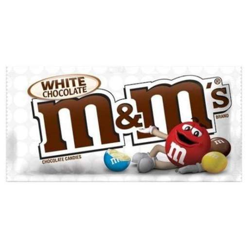 Image M&M's - White Chocolate Candy