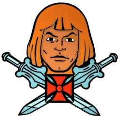 Image Masters of the Universe - He-Man Enamel Pin