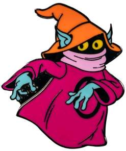 Image Masters of the Universe - Orko Enamel Pin