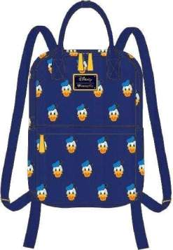 Image Mickey Mouse - Donald Head Print Mini Backpack