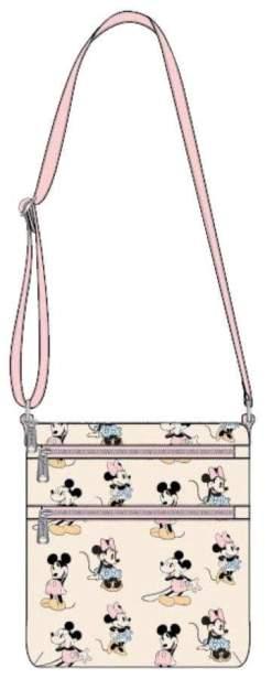 Image Mickey Mouse - Mickey & Minnie Pastel Passport Bag