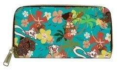 Image Moana - Floral Zip-Around Wallet