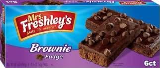 Image Mrs Freshley's - Oreo Brownie