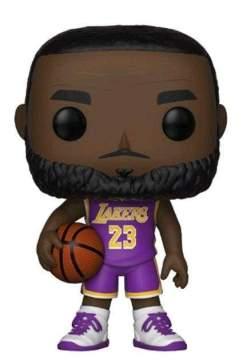 Image NBA: Lakers - Lebron James (Purple) US Exclusive Pop! Vinyl [RS]
