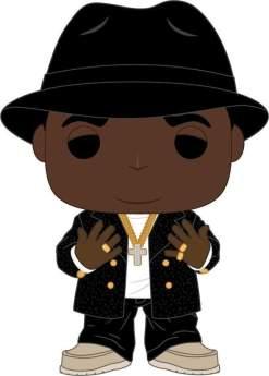 Image Notorious BIG - Notorious BIG Black Suit Fedora Pop! Vinyl