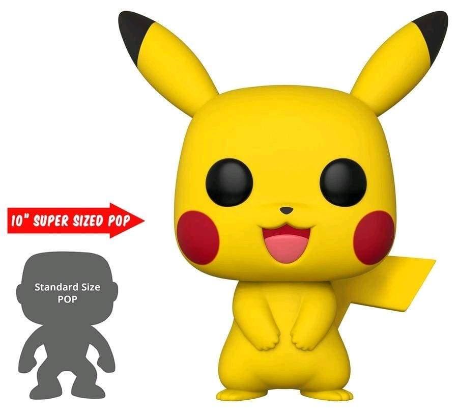 "Image Pokemon - Pikachu US Exclusive 10"" Pop! Vinyl [RS]"