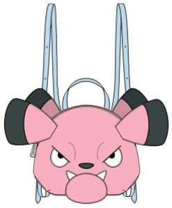 Image Pokemon - Snubbull Head Mini Backpack