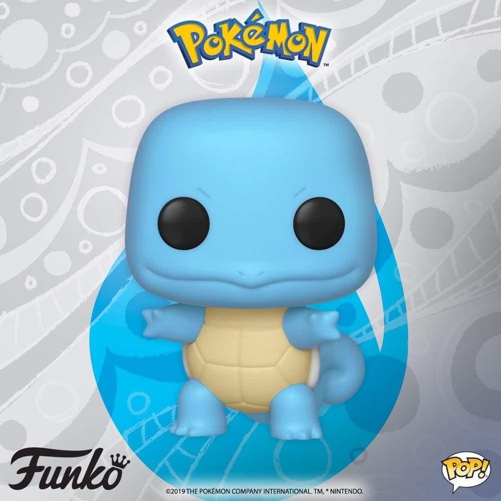 Image Pokemon - Squirtle Pop! Vinyl Figure