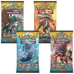 Image Pokemon Trading Card Game: Sun and Moon Booster