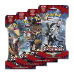 Image Pokemon Trading Card Game: Sun and Moon: Crimson Invasion Booster