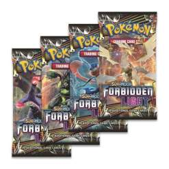 Image Pokemon Trading Card Game: Sun and Moon: Forbidden Light Booster