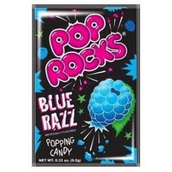 Image Pop Rocks - Blue Razz Popping Candy Sachet