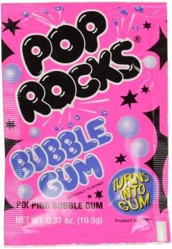 Image Pop Rocks - Bubble Gum Popping Candy Sachet