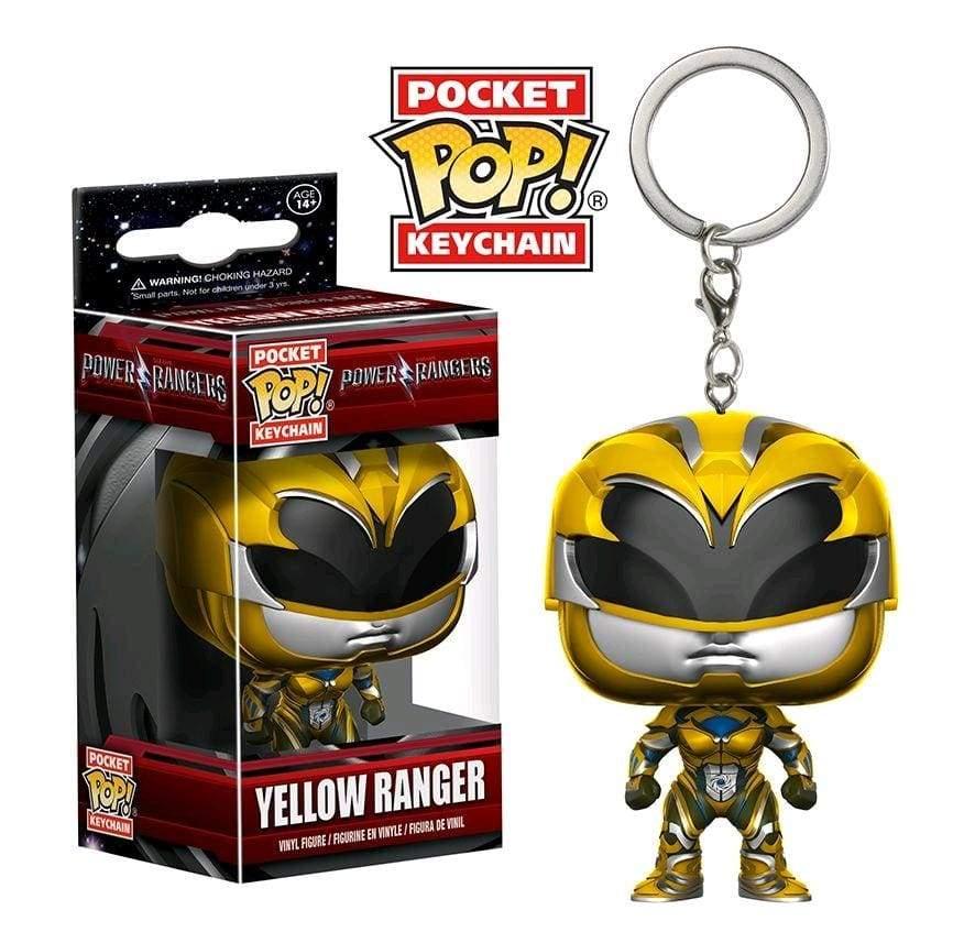 Image Power Rangers Movie - Yellow Ranger Pop! Keychain