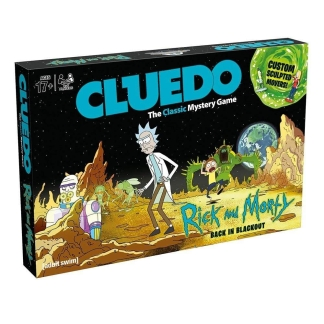 Image Rick & Morty Cluedo