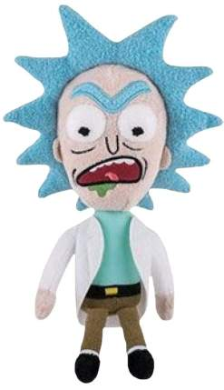 Image Rick & Morty - Rick (Mad) Plush