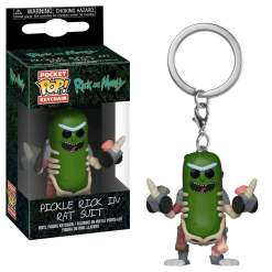 Image Rick and Morty - Pickle Rick in Rat Suit Pocket Pop! Keychain