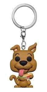 Image Scooby Doo - Scooby Doo with Sandwich US Exclusive Pocket Pop! Keychain [RS]