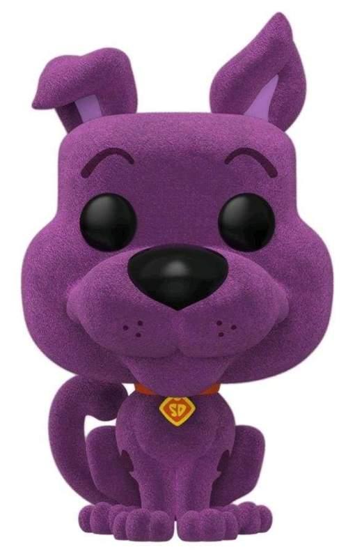 Image Scooby Doo - Scooby Purple Flocked US Exclusive Pop! Vinyl Figure