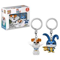Image Secret Life of Pets 2 - Max & Snowball US Exclusive Pocket Pop! Keychain 2-Pack [RS]