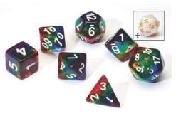 Image Sirius Dice - Polyhedral Dice Set- Translucent Rainbow
