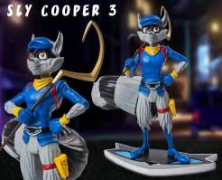 Image Sly Cooper 3 - Sly Cooper Statue