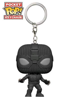 Image Spider-Man: Far From Home - Stealth Suit Pocket Pop! Keychain