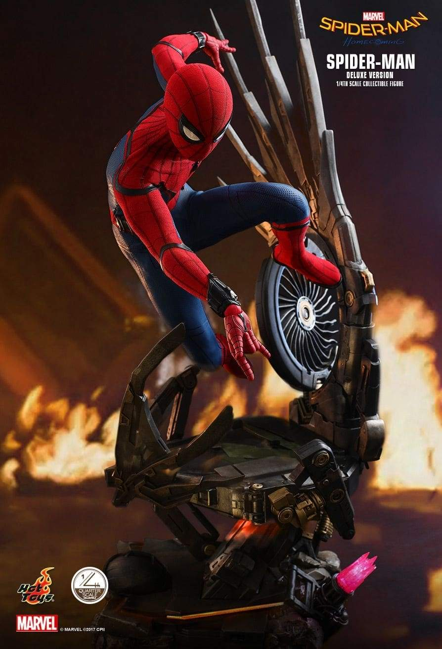 Spider-Man: Homecoming – Spider-Man Deluxe 1:4 Scale Action Figure
