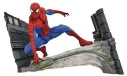 Image Spider-Man - Spider-Man Webbing PVC Gallery Diorama