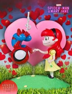 Image Spider-Man - SpiderMan & Mary Jane Animated Statue